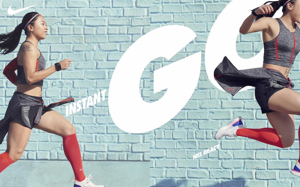 耐克:React 新品上市整合传播「任我去跑(Choose Go)」