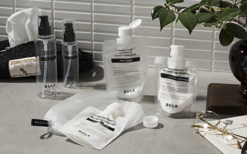 日本男士护肤品牌 BULK HOMME 获中国新奢美妆品牌集团 USHOPAL 战略投资