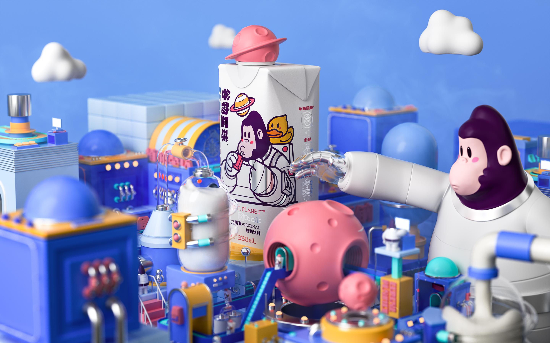 谷物星球CerealPlanet:一款创造力植物基品牌的「养成游戏」|BrandStar专访