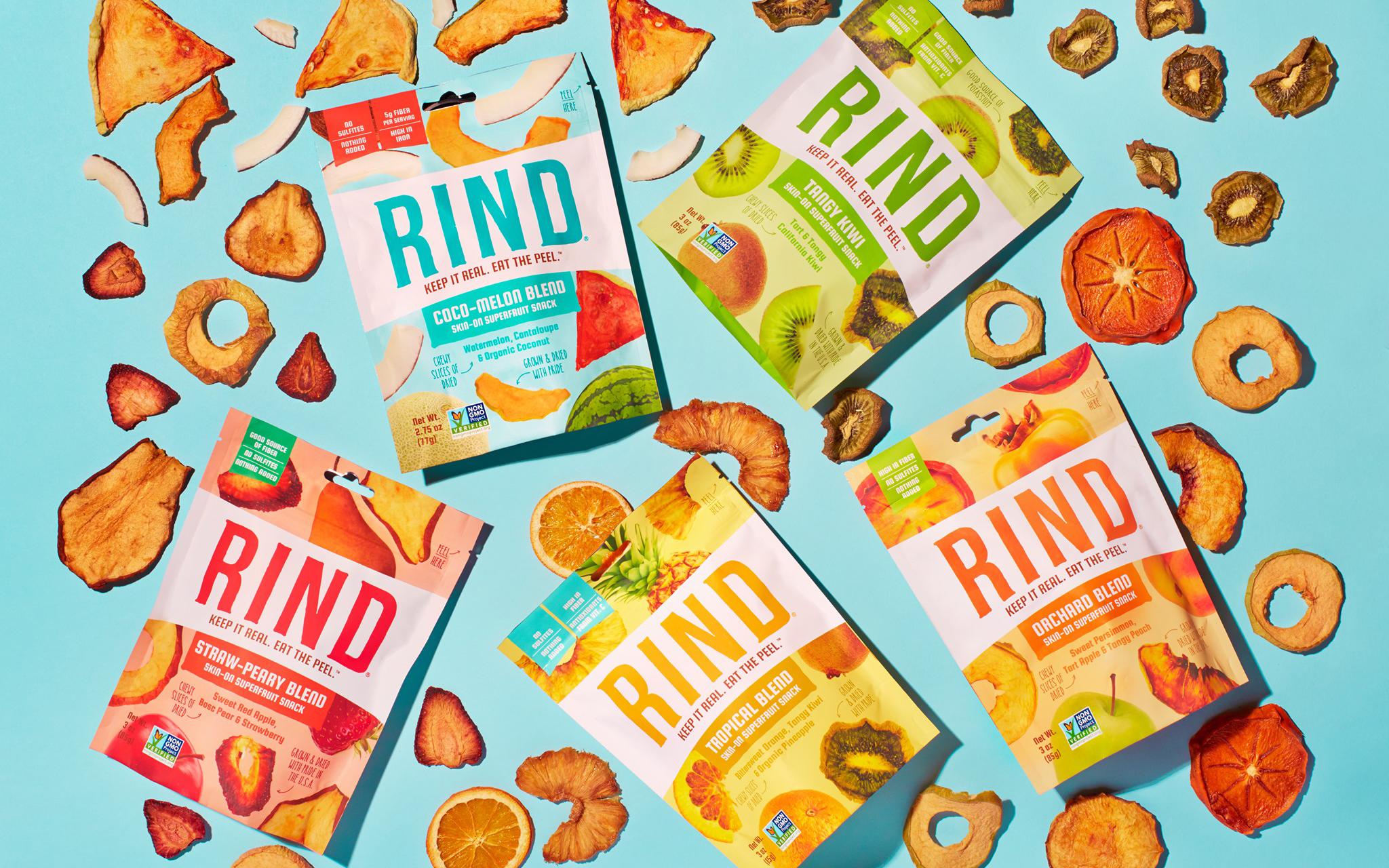 果干零食品牌 RIND 获 610 万美元 A 轮融资
