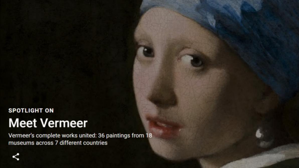 Google 上线虚拟博物馆,以 AR 展现画作之美