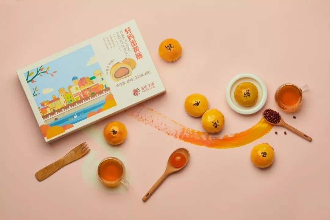 烘培电商「轩妈食品」获 1000 万元 A 轮融资,明星单品蛋黄酥去年营收约 2 亿元