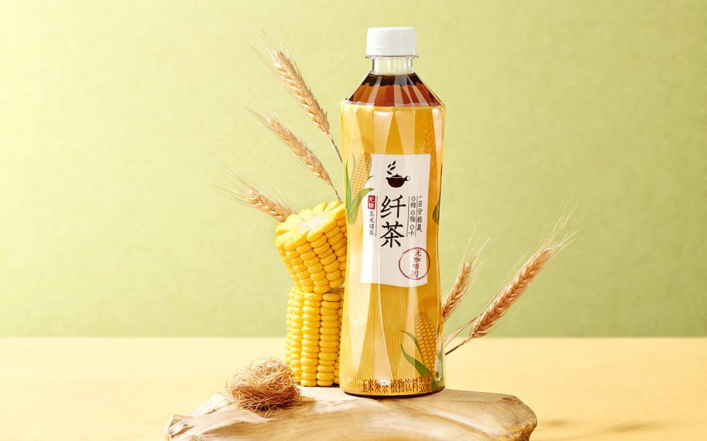 元气森林推出新品玉米须茶饮「纤茶」