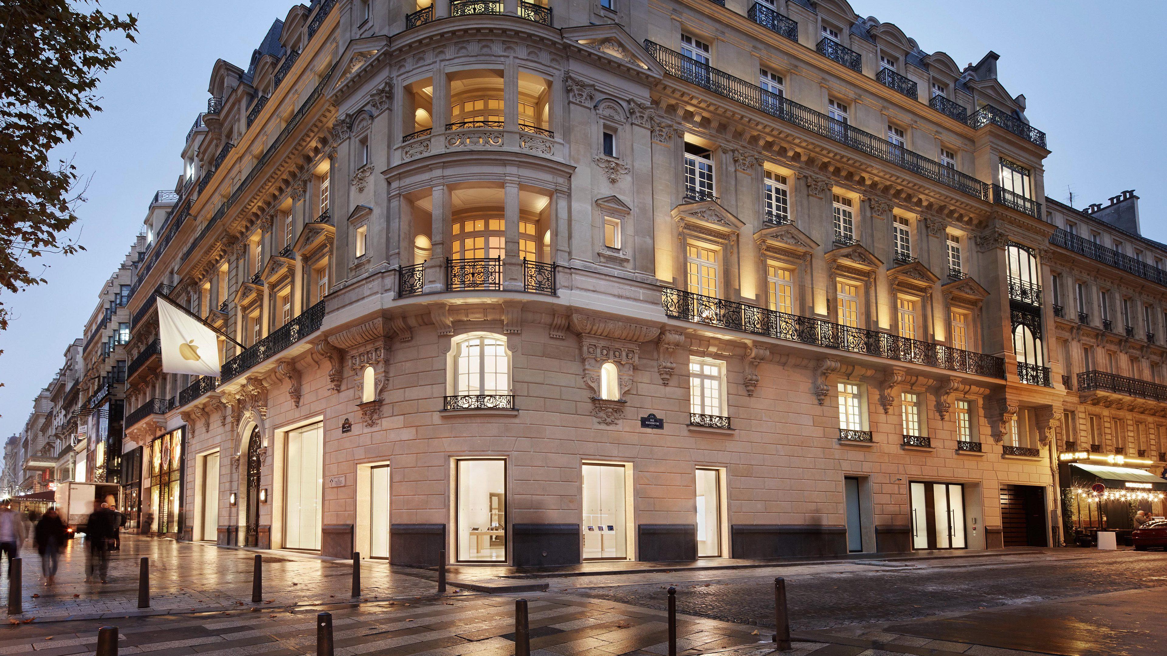 苹果翻新法国历史建筑作为旗舰店,本周日即将开幕