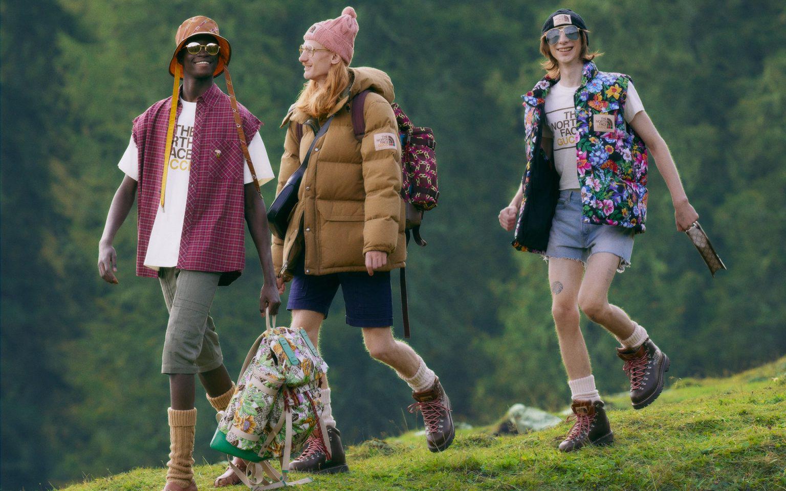 潮流美妆集合店「喜燃」华东首店开业;The North Face × Gucci 推出联名系列;艾兰得和饭扫光获融资丨品牌日报