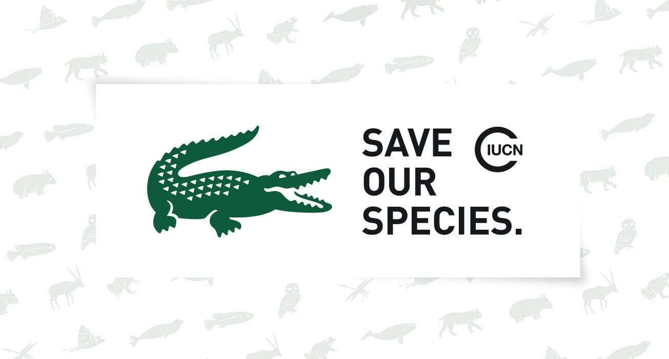 Lacoste 发布 2019 年「Save Our Species」主题限定系列设计