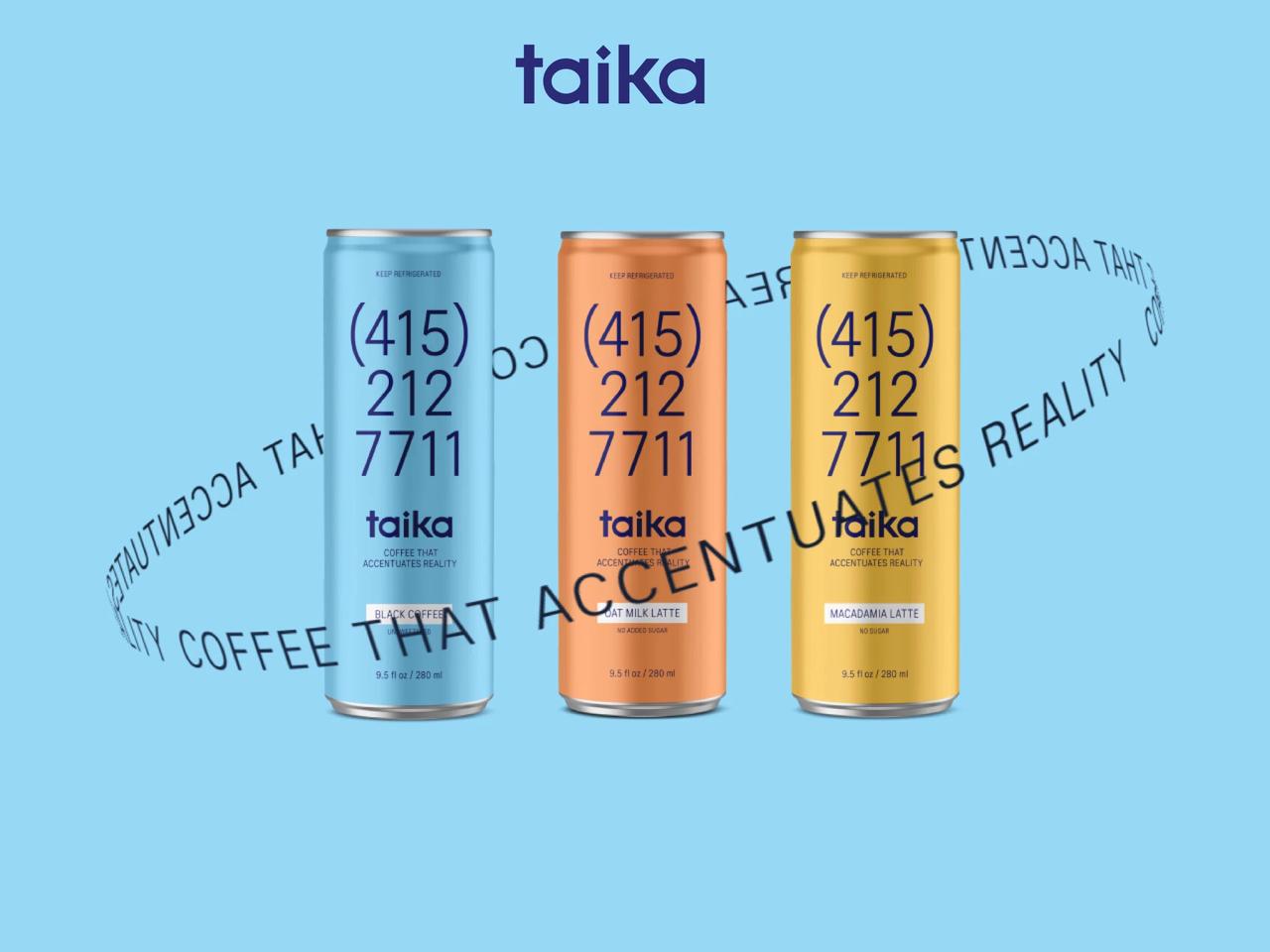 不关注咖啡的产地,但关注你喝完的感受,植物基咖啡品牌 Taika 获 270 万美元种子轮融资