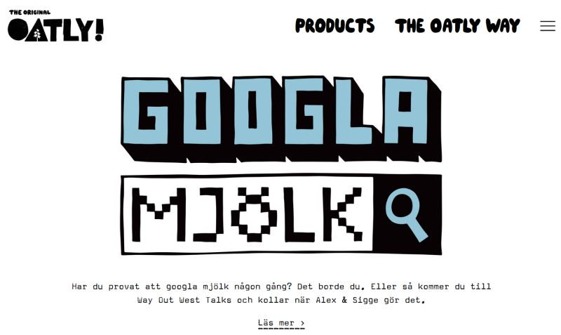 google milk from oatly