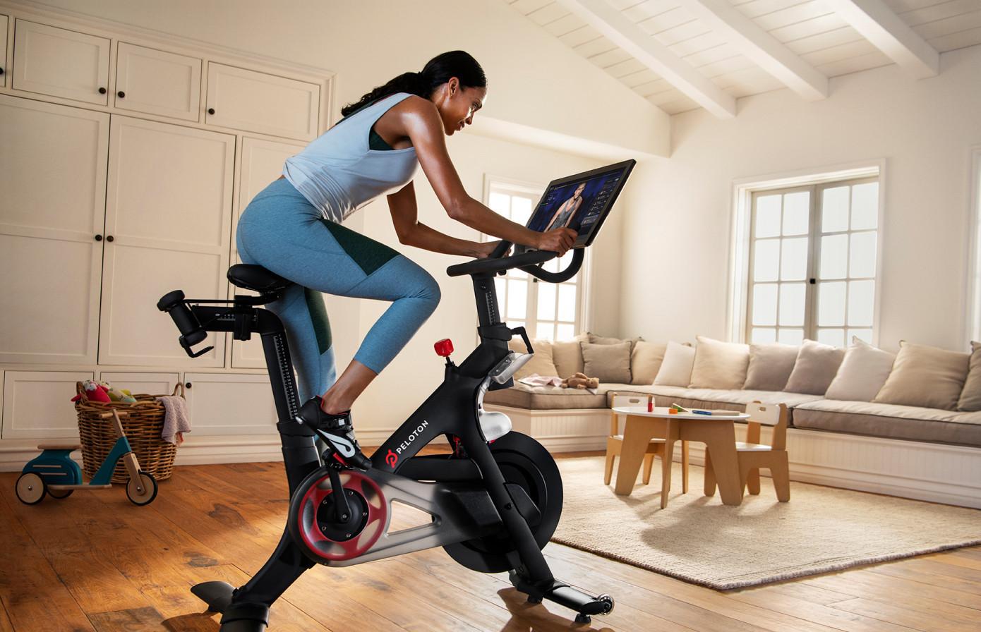 Peloton-健身-动感单车