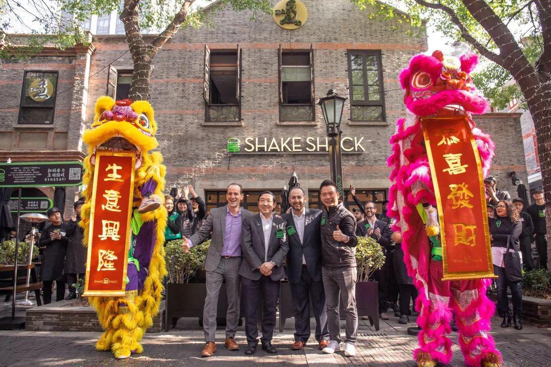 shake shack 上海开业