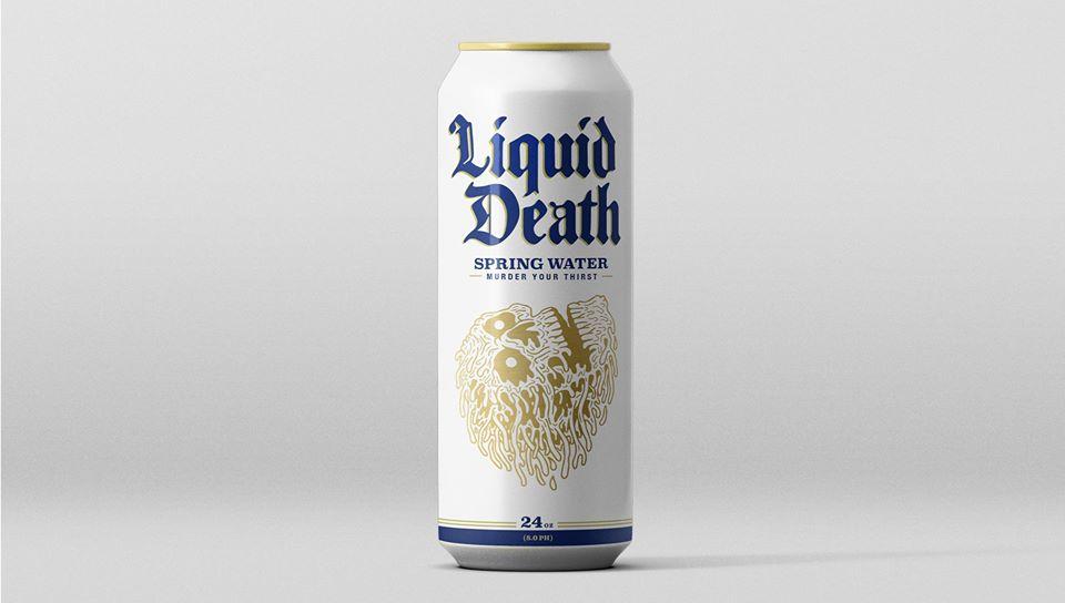 liquid death 饮用水