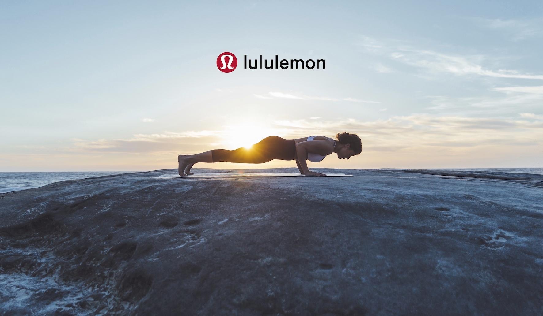 lululemon 瑜伽