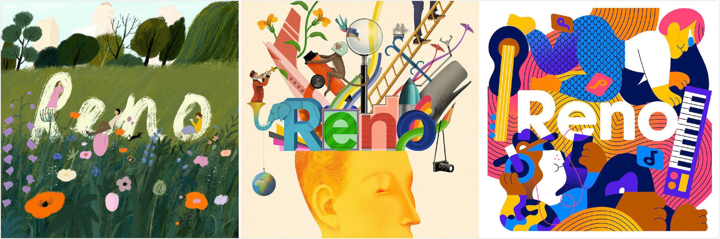 Reno-艺术家合作插画